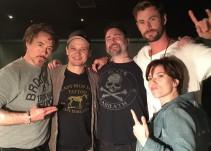 """'Los Avengers' celebran el éxito de """"Infinty War"""" con un tatuaje"""