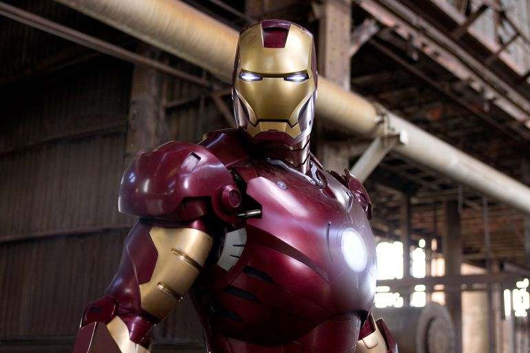 Roban la armadura original de Iron Man Robert Downey Jr.: ¡Roban la armadura original de Iron Man!