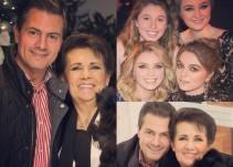 Peña Nieto presume a su mamá en las redes sociales