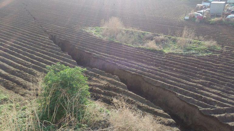 Se abre grieta en los límites de Tláhuac y Milpa Alta