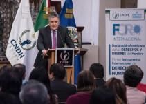 CNDH pide a presidenciales hablar de migración en el debate