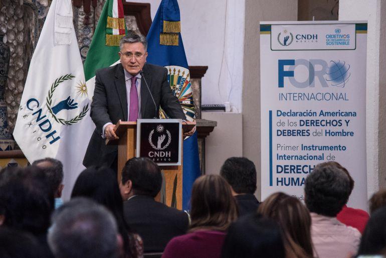 migración, debate: CNDH pide a presidenciales hablar de migración en el debate
