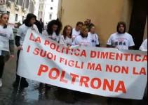 Protestan familiares de italianos desaparecidos en México