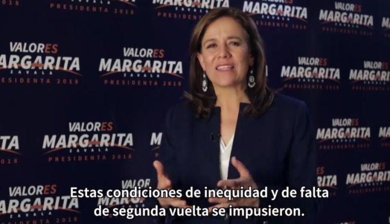 Justifica Margarita su renuncia