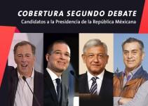 Así se vivió el Segundo debate presidencial