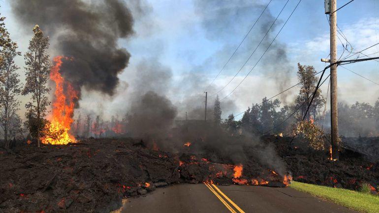 Registra nueva explosión el volcán Kilauea de Hawái: Registra nueva explosión el volcán Kilauea de Hawái