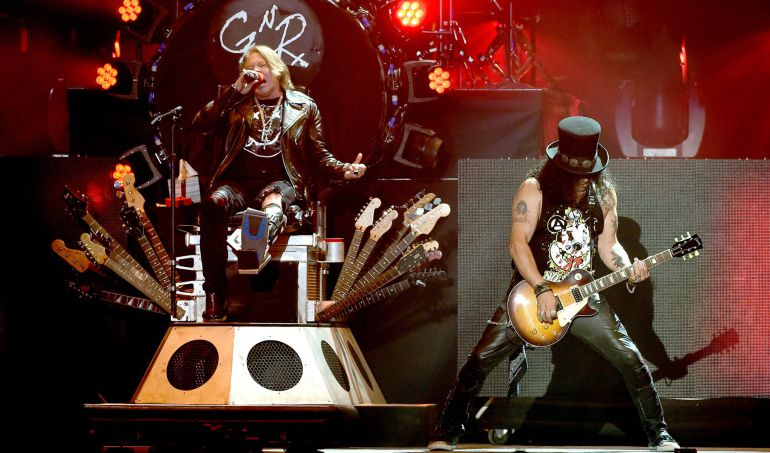 "Video inédito de Guns N' Roses ""It's So Easy"""