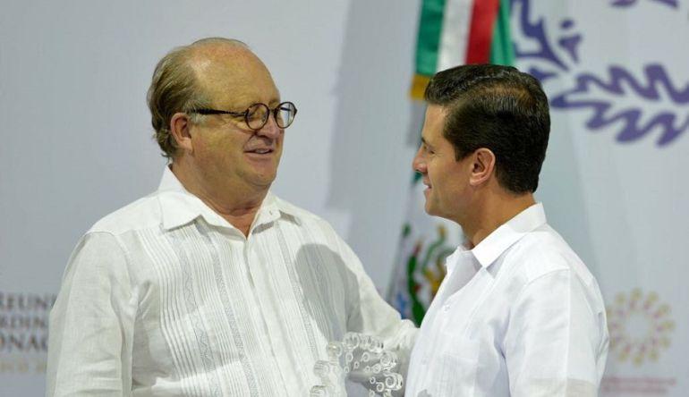 Reconoce EPN a Graco Ramírez por su participación en la Conago