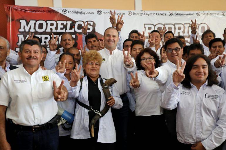 Repunta Rodrigo Gayosso en las preferencias de los morelenses
