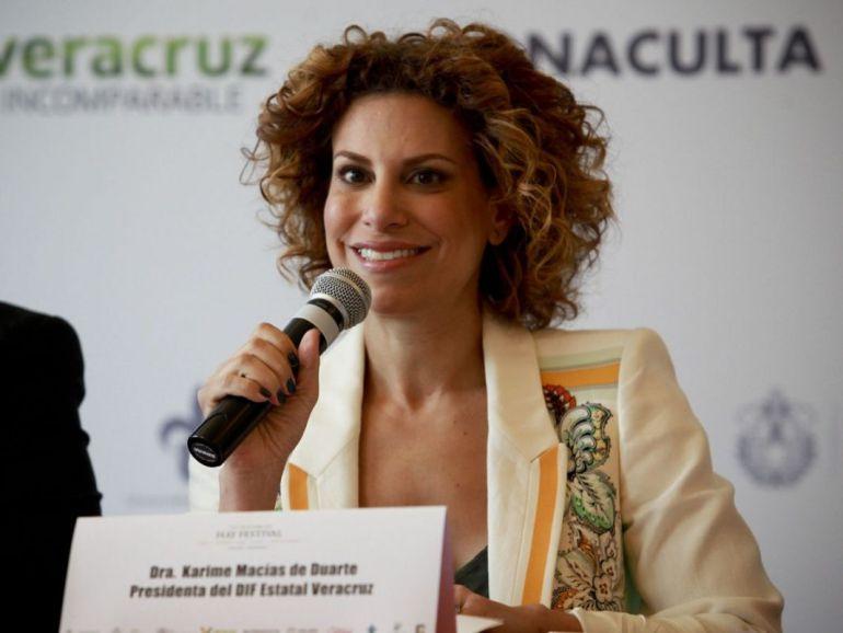 Solicita Karime Macías amparo para evitar ser detenida