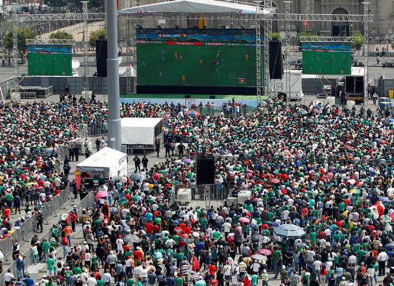 No habrá cierres de campaña en el Zócalo por Mundial