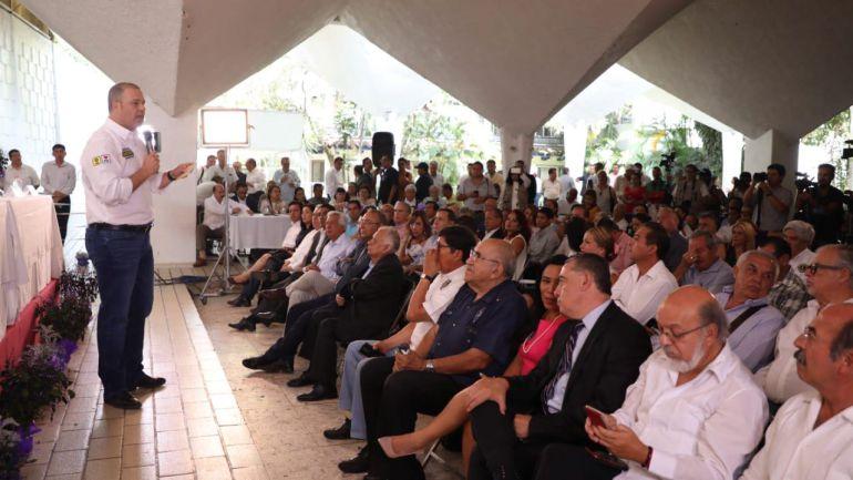 Gayosso apuesta por la transparencia en Morelos