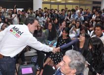 Mikel Arriola invita a jóvenes a sumarse a su Gobierno