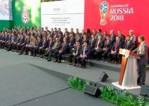 Abanderamiento de la Selección Nacional de México rumbo a la Copa del Mundo Rusia 2018