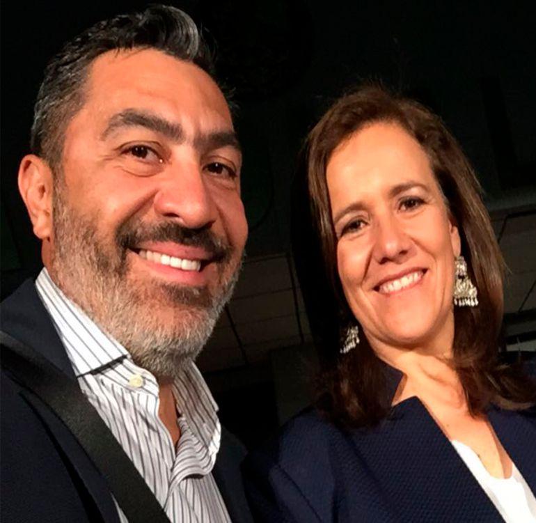 Jorge Camacho, José Antonio Meade, Margarita Zavala: Jorge Camacho muestra apoyo incondicional a Meade