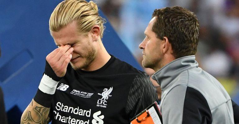 Loris Karius, UEFA Champions League, Sergio Ramos,: Loris Karius sufrió una conmoción cerebral en la Champions