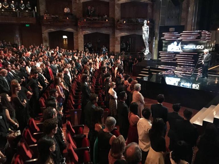 """Premios Ariel cumplen 60 años: Los premios """"Ariel"""" cumplen 60 años y piden justicia por los estudiantes de cine asesinados"""