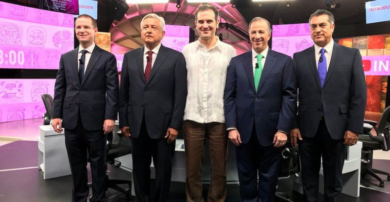 Tercer debate presidencial, último debate presidencial, INE: Así el tercer debate presidencial