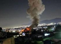 Explosión de polvorín deja 7 muertos en Tultepec