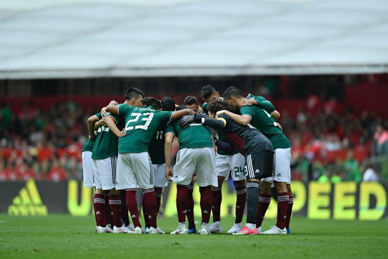 La famosa fiesta de la Selección Mexicana