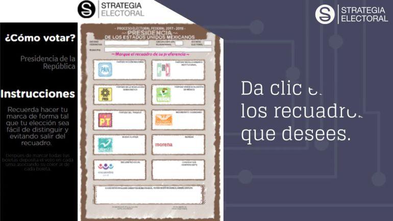 Simulador de voto, elecciones México 2018: Conoce el nuevo simulador de votos