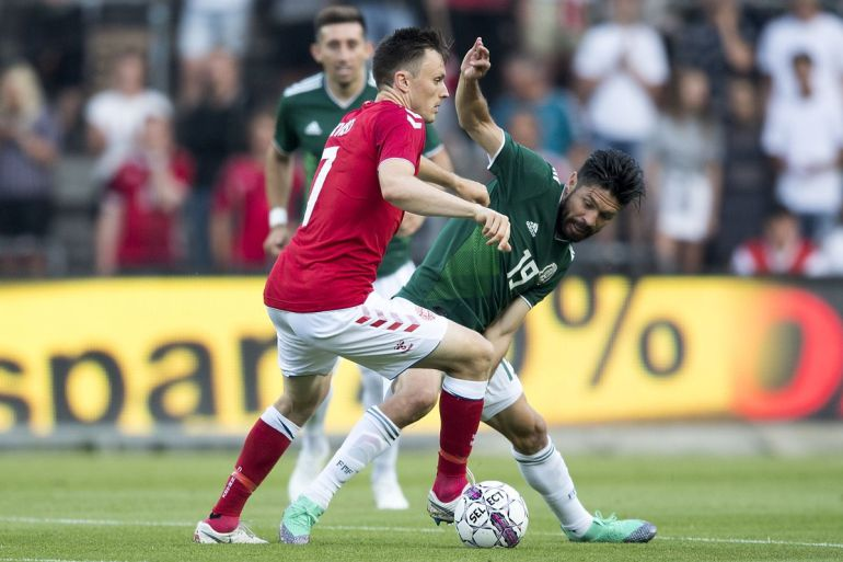Dinamarca derrotó a México