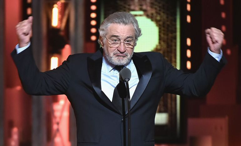 Robert De Niro insulta a Trump: Robert De Niro insulta a Donald Trump