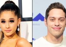 Ariana Grande se compromete con Pete Davidson