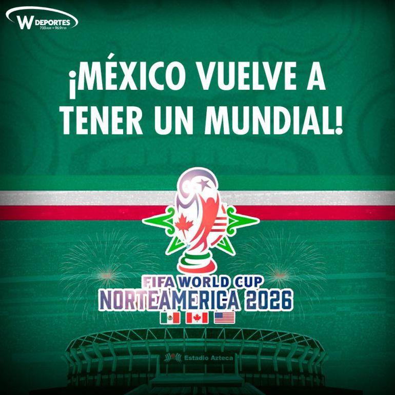 México volverá a tener un Mundial