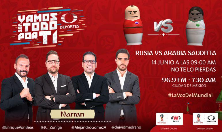 Rusia vs Arabia Saudita, inauguración Rusia 2018: Las selecciones de Rusia y Arabia Saudita comienzan la fiesta mundialista
