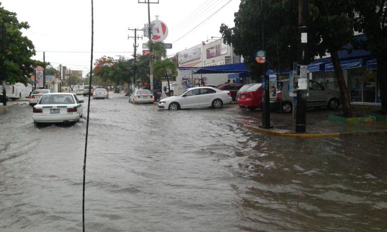lluvias, estados: Lluvias afectan varios estados de la República