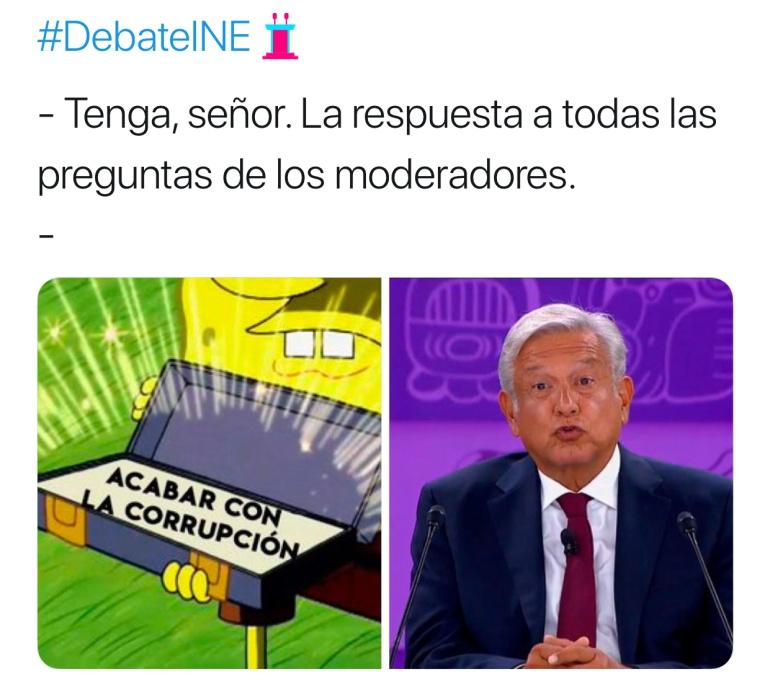 Estos son los Memes del Debate Presidencial: Los Memes del Debate Presidencial
