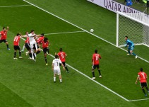 Uruguay vence a Egipto de último minuto