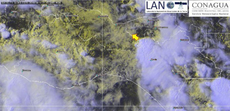 lluvias, México: Se forma depresión tropical 4-E en Guerrero y Oaxaca