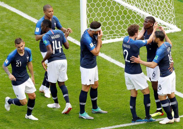 Francia vs Australia, Antoine Griezmann, Copa Mundial Fútbol Rusia 2018: Francia estrena la tecnología en el Kazán Arena