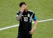 Messi niega la victoria a Argentina