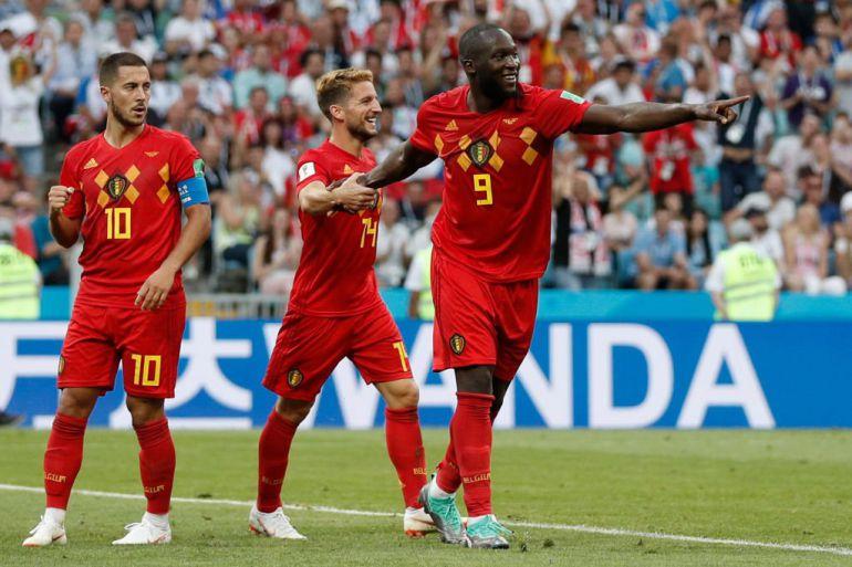 Bélgica vs Panamá, Romelu Lukaku, Copa del Mundo fútbol Rusia 2018: Bélgica arranca con goleada ante Panamá