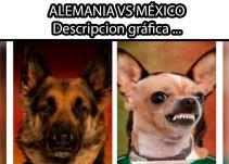 Los Memes del partido Alemania vs México