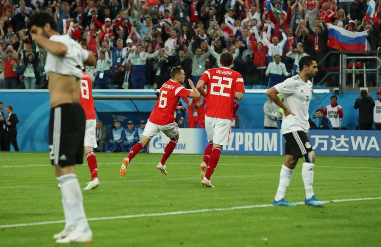 Rusia vs Egipto, en vivo, Copa Mundial Rusia 2018: Rusia sigue imparable en la Copa del Mundo
