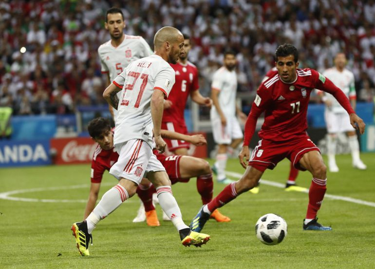Irán 0, España 1, Rusia 2018, Mundial: España sufrió ante Irán