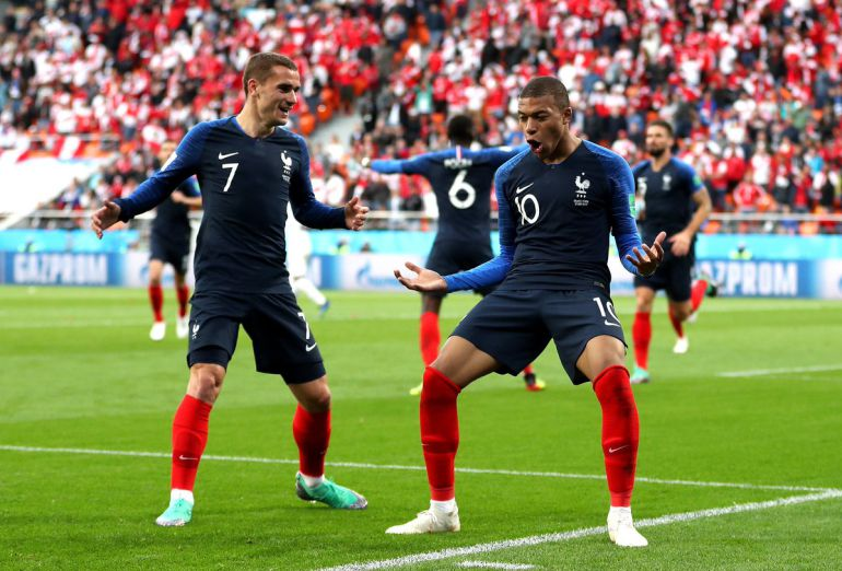 Francia VS Perú, Kylian Mbappé, Mundial Rusia 2018: Francia despide a Perú del Mundial de Rusia 2018