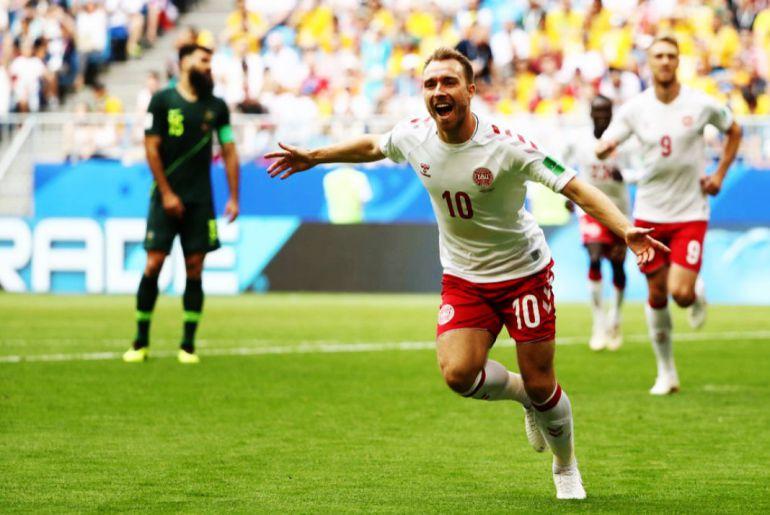 Dinamarca 1, Australia 1, Mundial Rusia 2018, Fase de Grupos: Dinamarca no pudo ante Australia