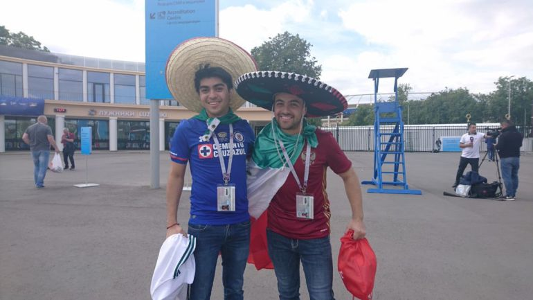 Fans del Cruz Azul