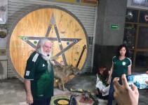 Brujo Mayor hace ritual para que el Tri derrote a Corea