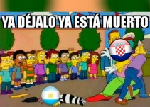 Los memes del Argentina vs Croacia