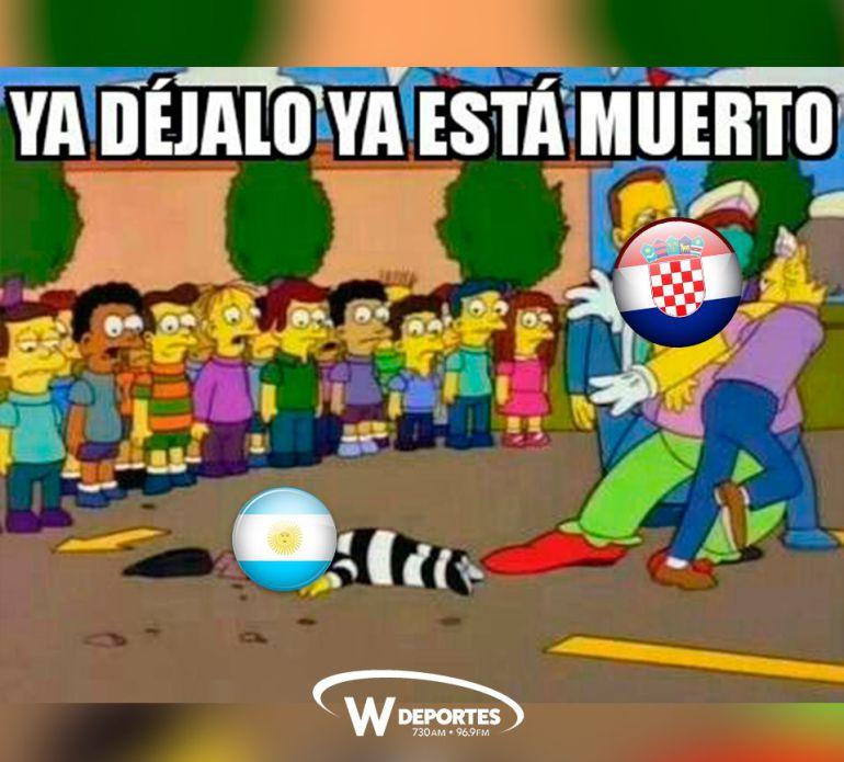memes argentina vs croacia los memes argentina vs