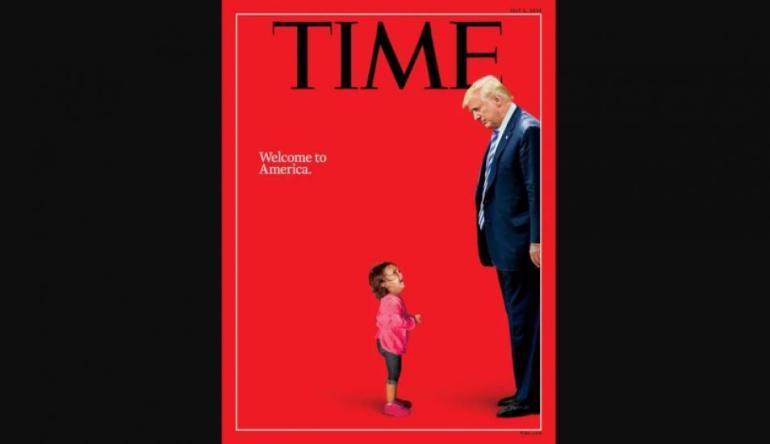 """Revista Time critica a Donald Trump con polémica portada: Revista """"Time"""" publica polémica portada"""