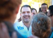 Somos la mejor opción para Benito Juárez: Christian von