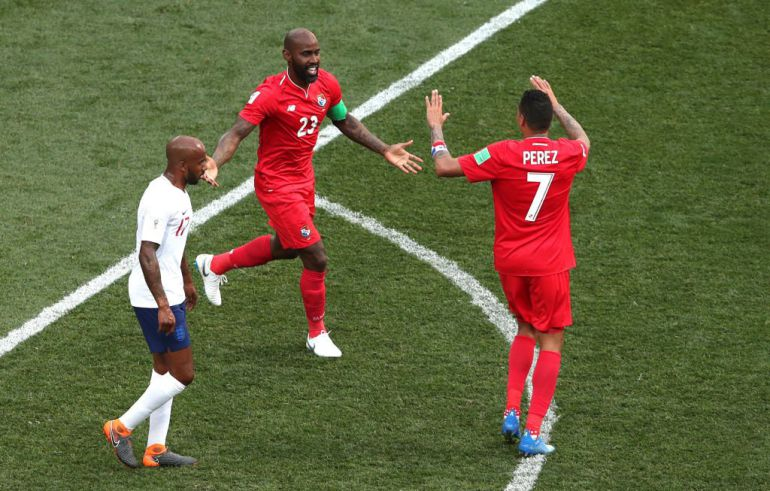 Inglaterra goleó a Panamá pero los panameños hicieron historia