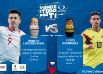 En vivo: Polonia vs Colombia